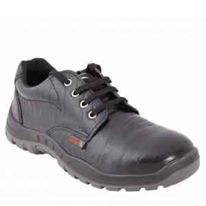 Acme Hawk Steel Toe Low Ankle Black Safety Shoes, Size: 9