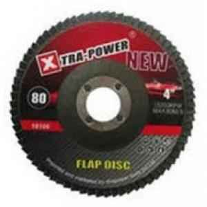 Xtra Power 4 Inch Flap Discs, Grit: 120 (Pack of 10)