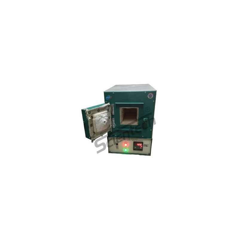 Scientech 1450 deg C Rectangular Muffle Furnace, 200x200x300 mm, SE-130