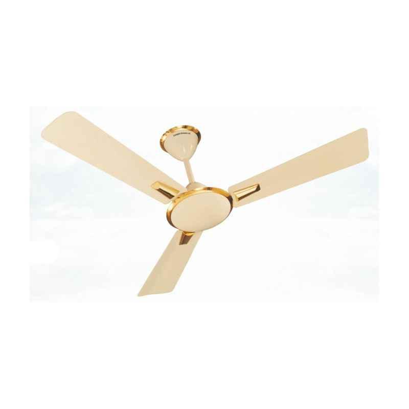 Crompton 62W Aura Ivory Decorative Ceiling Fan, Sweep: 900 mm
