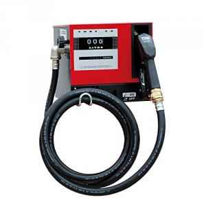 Bellstone 220V DC Red Diesel Pump Box with 4m Rubber Hose, 152223