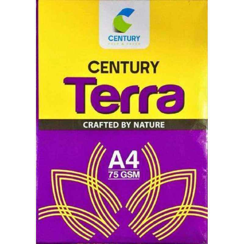 Century Terra A4 Size 75 GSM Copier Paper (Pack of 10)