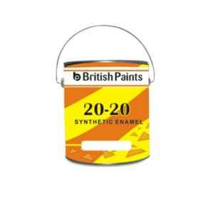 British Paints 500ml Phiroza 20-20 Synthetic Enamel, GR-III