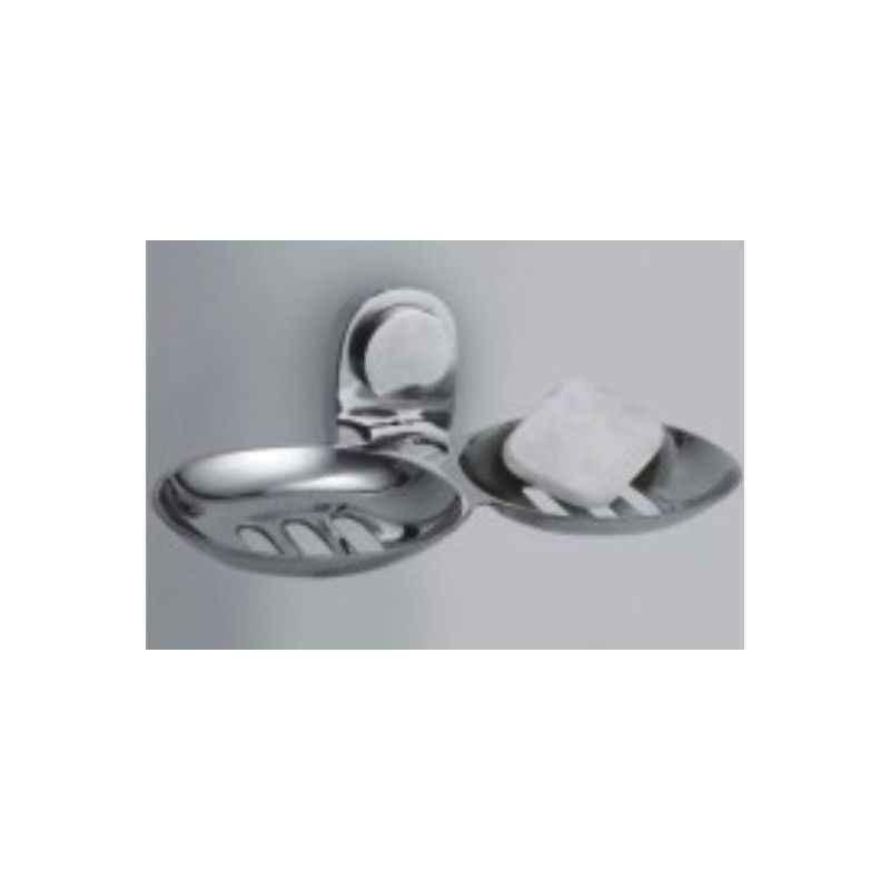 Bath Age Randel Double Soap Dish (Oval), JRN 1208