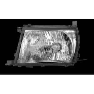 Indolite Right Hand Head Light Assembly For Toyota Qualis T2, AG95