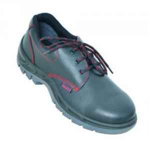 Karam FS-01-ST Steel Toe Black Safety Shoes, Size: 7