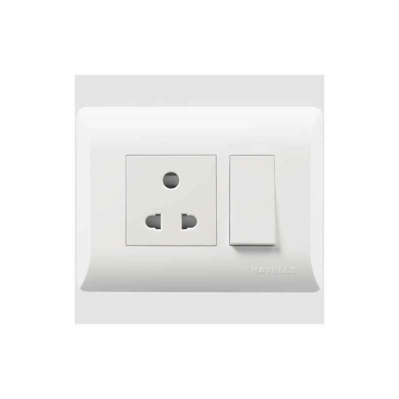 Havells 16A Switch & Socket Combined