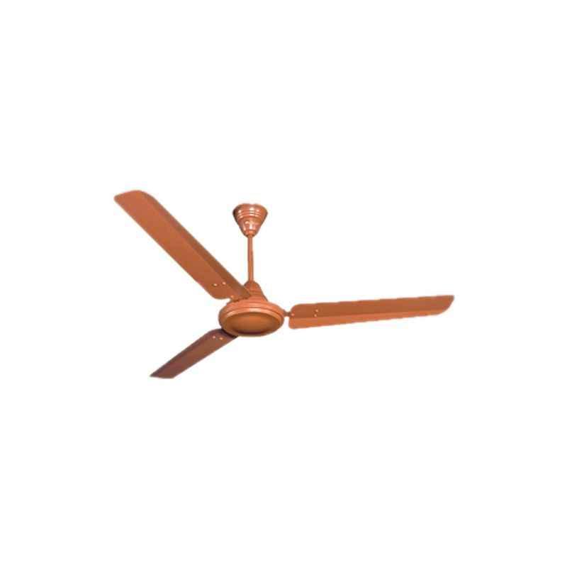 Crompton High speed 3 Blades Brown Ceiling Fan, Sweep: 1200 mm