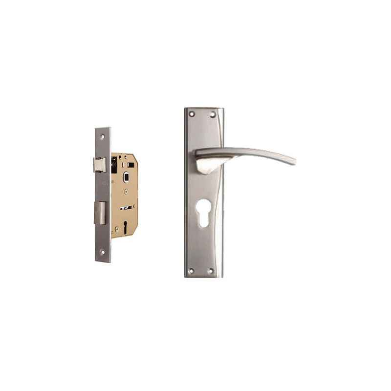 Plaza Pulse 65mm Mortice Lock with Stainless Steel Handle & 3 Keys