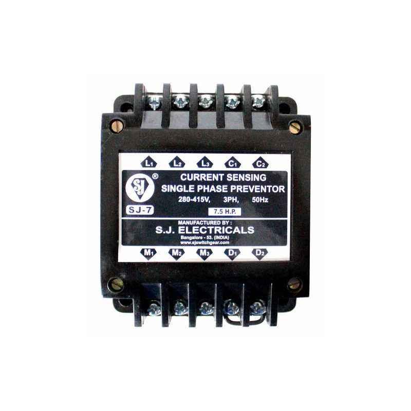 SJ 7.5 HP Single Phase Preventor, PR02