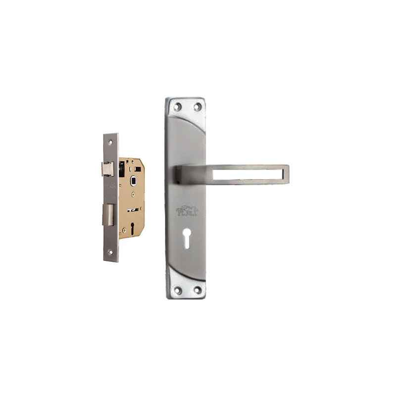 Plaza Elegant Stainless Steel Finish Handle with 65mm Mortice Lock & 3 Keys