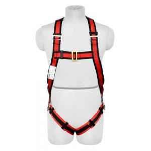 Karam PN16 Full Body Harness with Single PP Rope Lanyard & Snap Hook