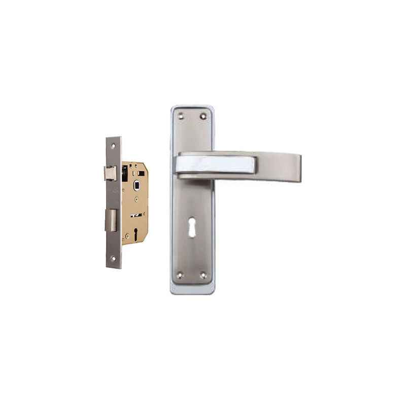 Plaza Royal 65mm Mortice Lock with Stainless Steel Handle & 3 Keys