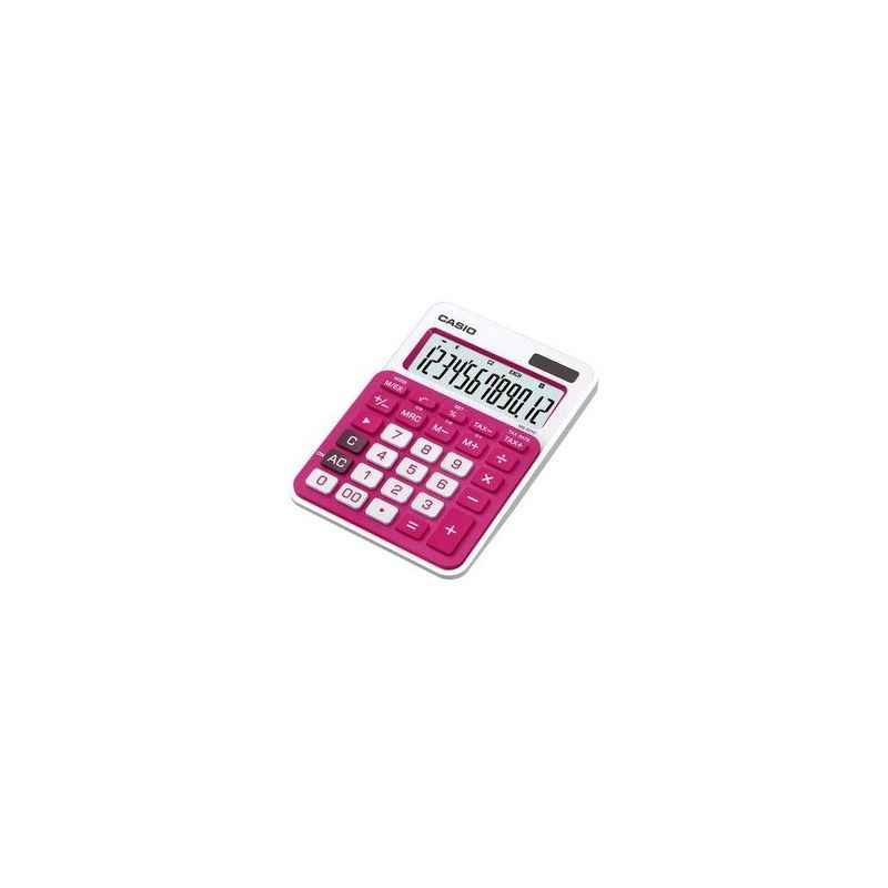 Casio MJ-12VC Red Electronic Calculator