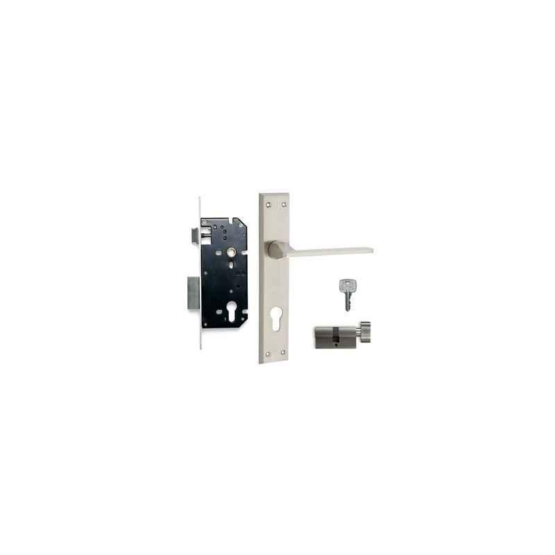 Godrej NEH 04 240mm 1CK Door Handle with Lock Set, 7559