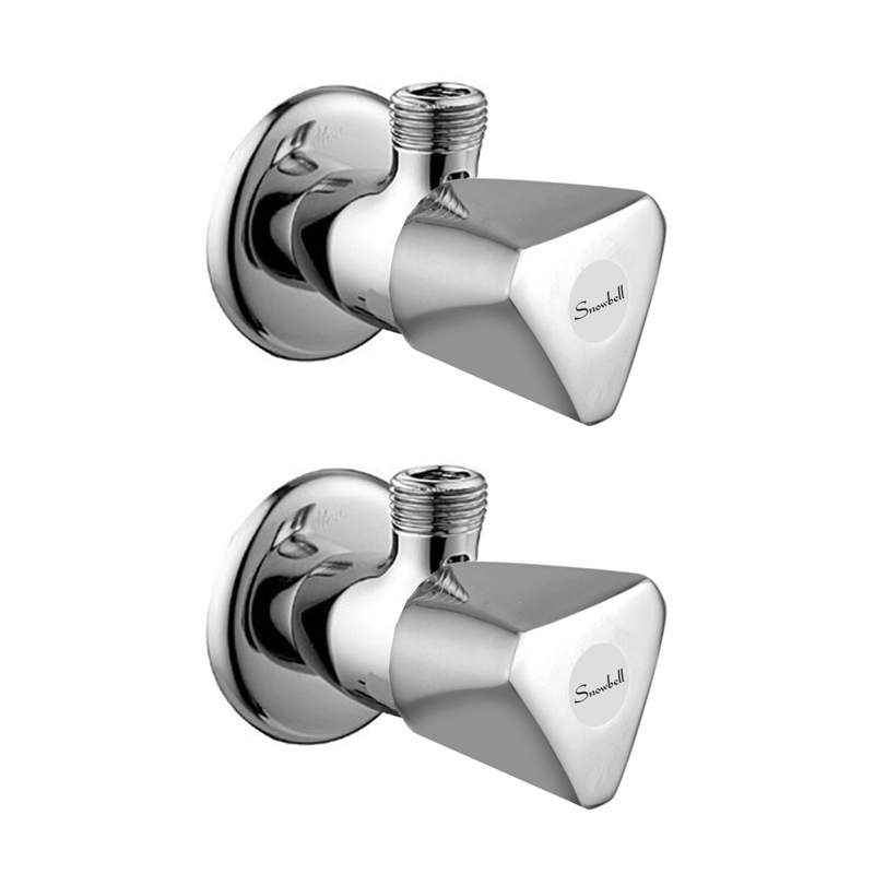 Snowbell Acura Brass Angle Faucet (Pack of 2)