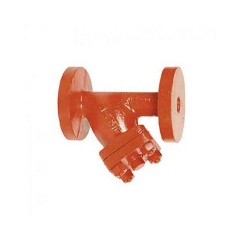 Sant 2.5 Inch Cast Steel Y-Type Strainer, CS 3A