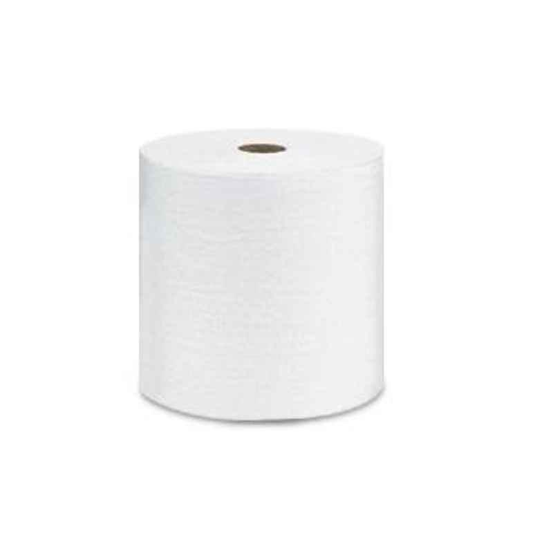 Wypall L10 24.3cmx300m White Premium Utility Wipes Roll, 1380A (Pack of 8)