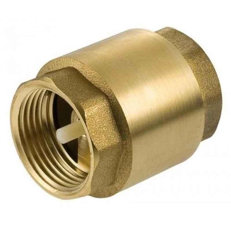Techno 1/4 inch Brass NRV Check Valve, CV02