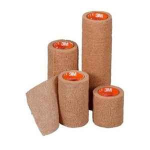 Coban 1inch X 5 YD LS Coban Tan 60 Rolls Self Adherent Wrap