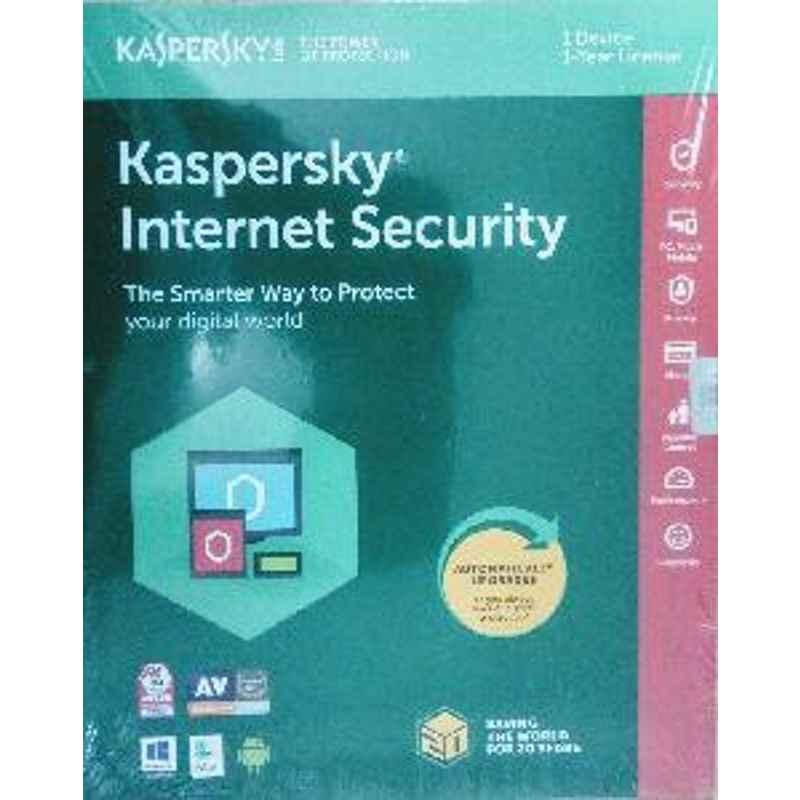 Kaspersky Internet Security 1pc 1 Year Software