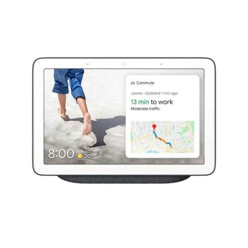 Google Nest Hub Charcoal Smart Speaker with Google Assistant