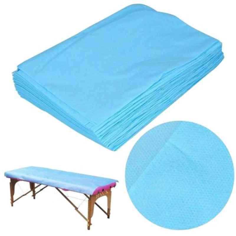 PSI PSI024 145x225cm PP Shield Non Woven Disposable Bedsheet (Pack of 25)