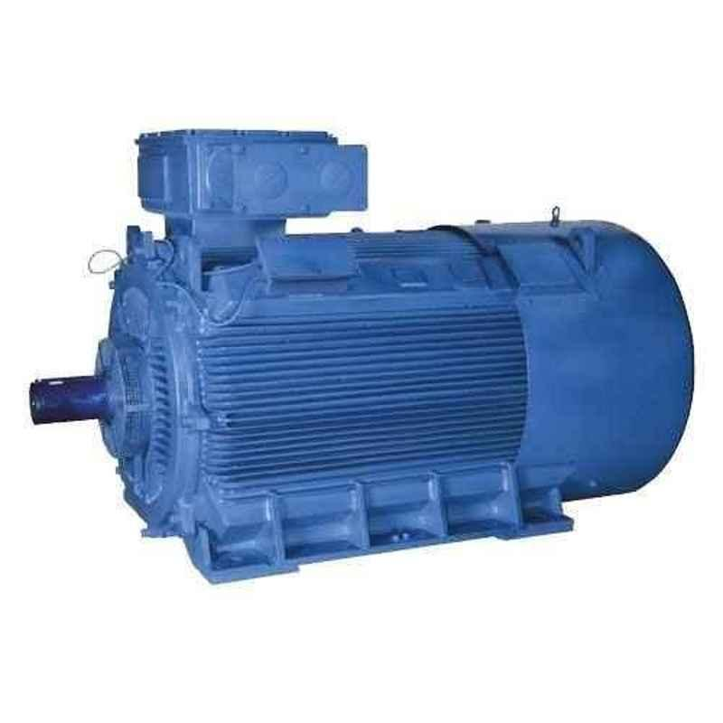 Bharat Bijlee IE3 5HP 2 Pole 3 Phase Cast Iron Induction Motor, 3H10L2B3CT000