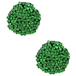Ever Forever 12m Green Colour LED String Light (Pack Of 2)