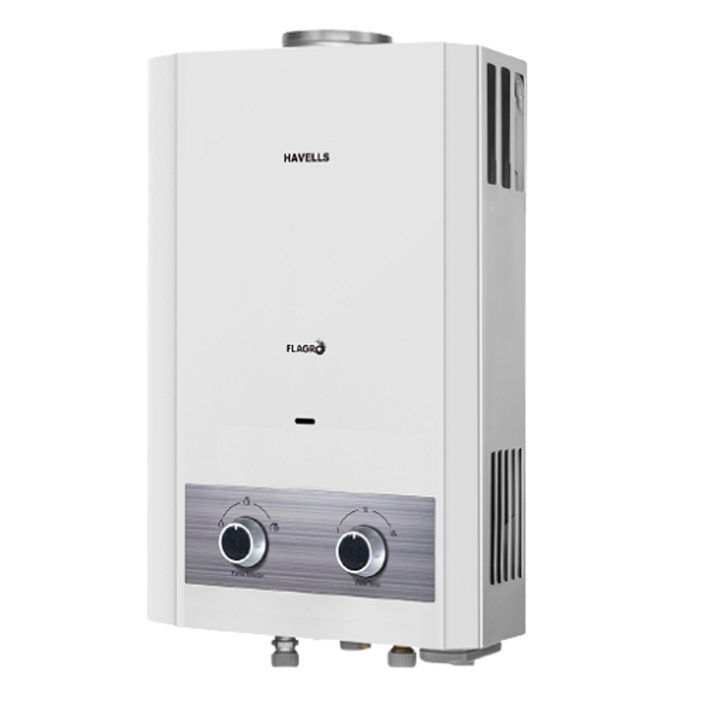 Havells Flagro 6L White Instantaneous Gas Water Heater, GHWGFLSWH006