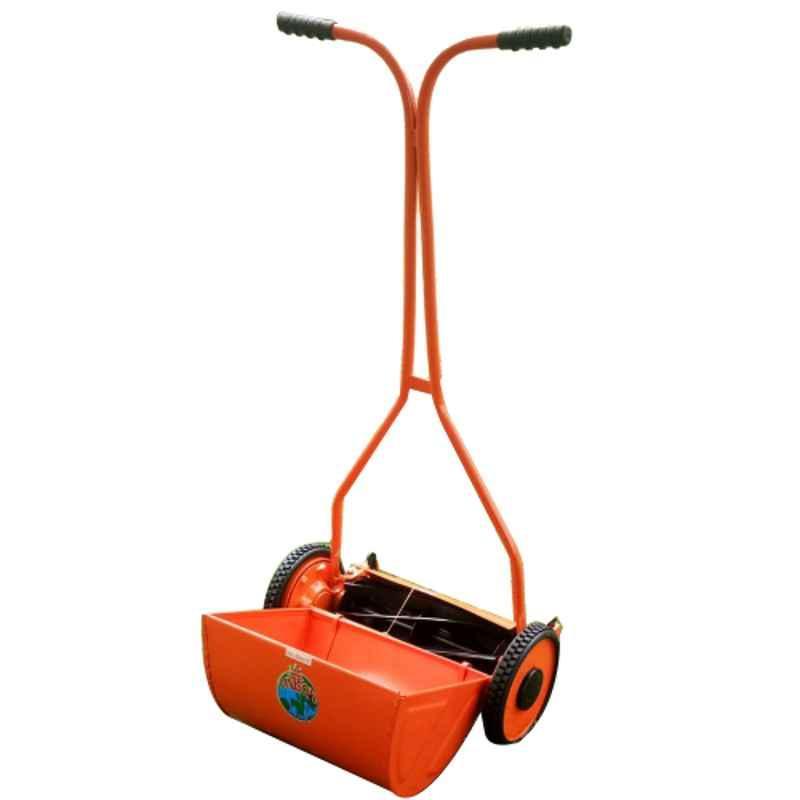Unison 18 inch Mild Steel Frame Wheel Type Push Mower