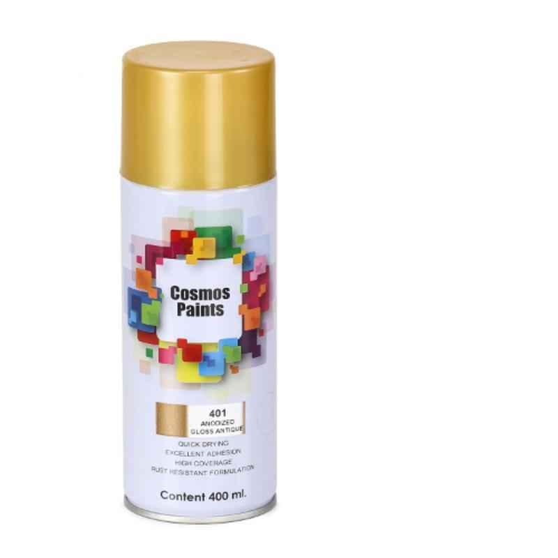 Cosmos 400ml Antique Anodized Gloss Spray Paint, COS-401