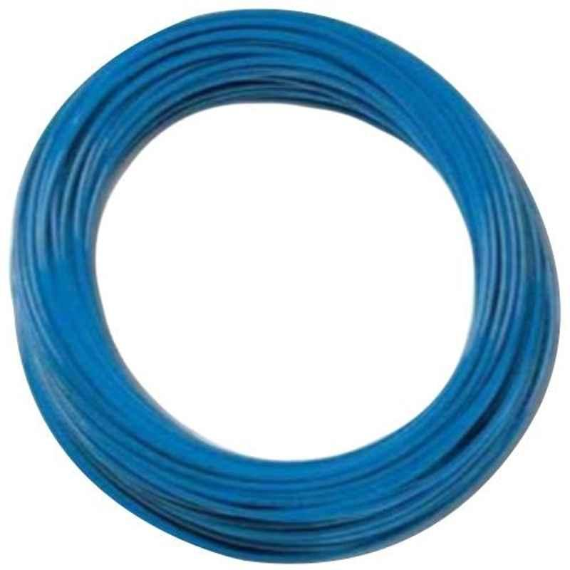 Camozzi 4x2.5mm 1m Blue Polyurethane Tube, PUR 4-2.5 BLUE