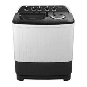Lloyd Supreme Wash 8kg Grey Semi Automatic Top Load Washing Machine, LWMS80GDB