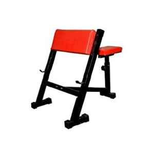 Spanco Multicolor 155kg Holding Capacity Preacher Curl Arm Exercises Bench/Biceps/Triceps/Wrist/Arms/Shoulder Excercises Bench/Fitness Bench/Weight Lifting Bench For Home Gym