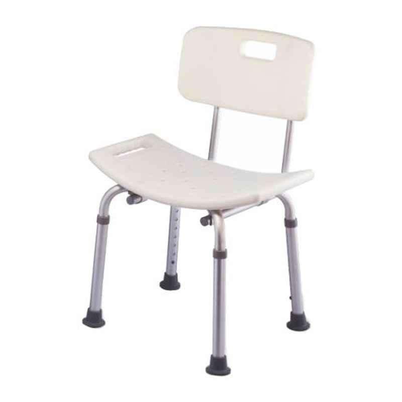 Easycare Light Weight Aluminum Height Adjustable Shower Chair, EC798LQ
