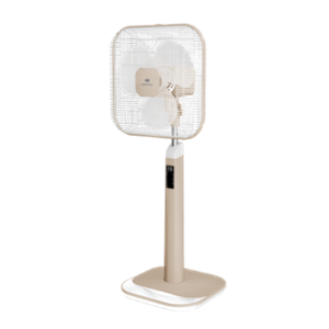 Havells Aindrila Premium 60W Dusty Rose White Pedestal Fan, FHSAGPMDRW16, Sweep: 400 mm