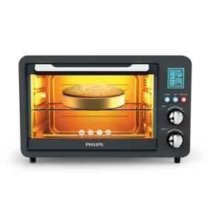 Philips Avance Collection Standard Anthracite Oven Toast Grill with 2 Years Warranty, HD6975/00