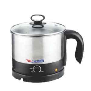 Lazer Hotpot 1.2L Brushed Steel Multi Cook Kettle