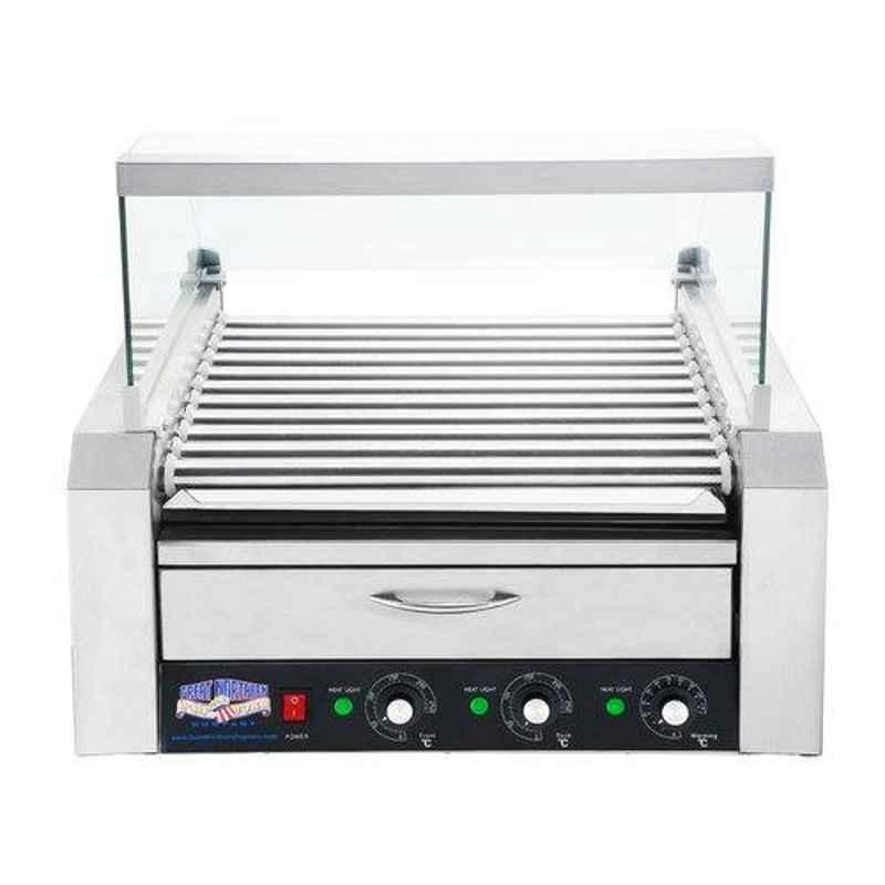Taikong SS Electric Hot Dog Roller Grill