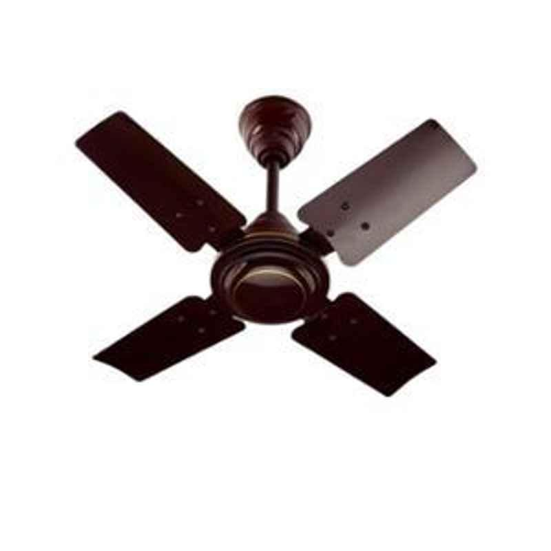 Urja Lite 65W Brown 4 Blades Aluminium Wounded Fusion Fan, Sweep: 600 mm