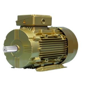 Crompton Apex IE3 Cast Iron 5HP Four Pole Squirrel Cage Induction Motor with Enclosure, NG112M