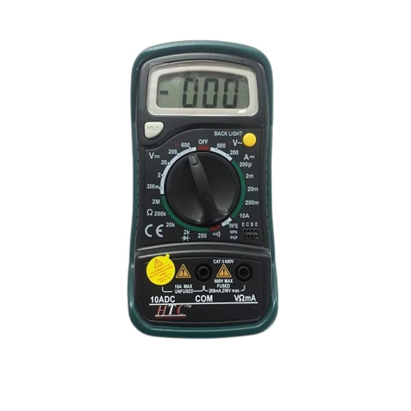 HTC DM-830L Digital Multimeter AC Voltage Range 0 to 600V DM to 830L