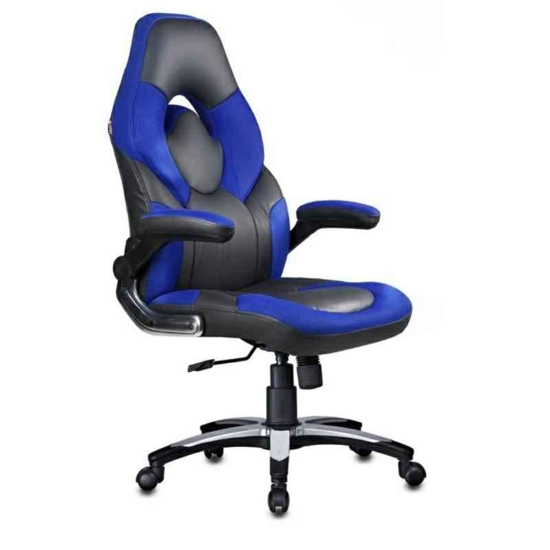 Caddy 558.8x482.6x1016mm Multicolour Leather Gaming Ergonomic Chair with Headrest, MISG3