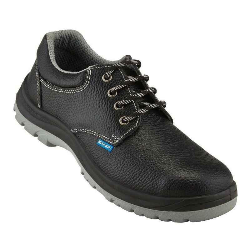 Neosafe Bold A5020 Low Ankle Steel Toe Safety Shoes, Size: 8