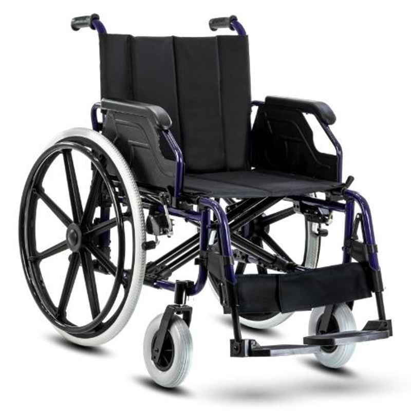 KosmoCare 20.08x35 inch Elegant Heavy Duty Wheelchair, RCS403