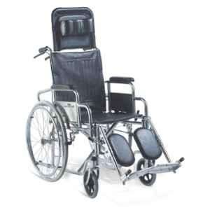 Easycare Portable Aluminum Wheelchair With Backrest Reclining & Footrest, Weighing Capacity: 100 kg, EC901GCJ