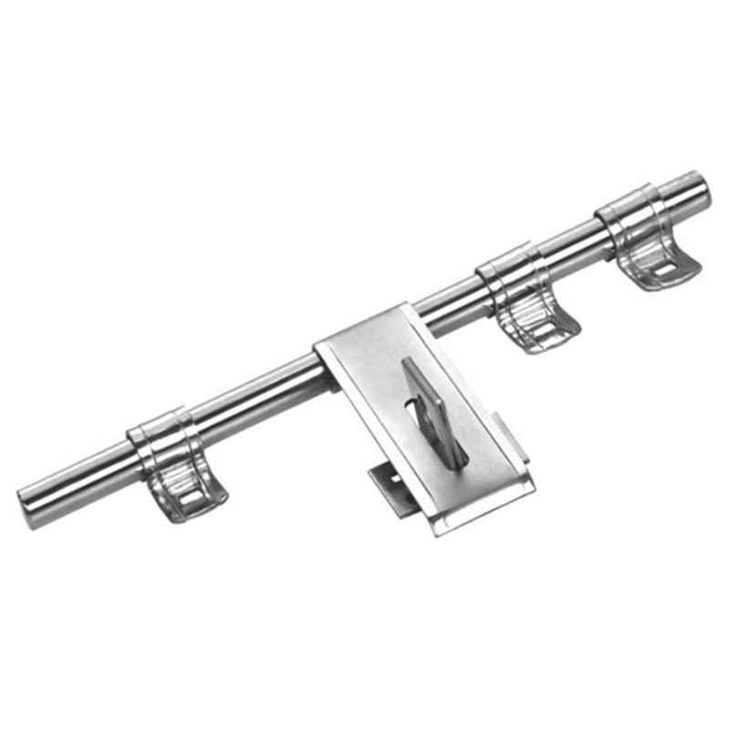 Smart Shophar 8 inch Stainless Steel Silver Lotus Aldrop, SHA40AL-LOTU-SL08-P1