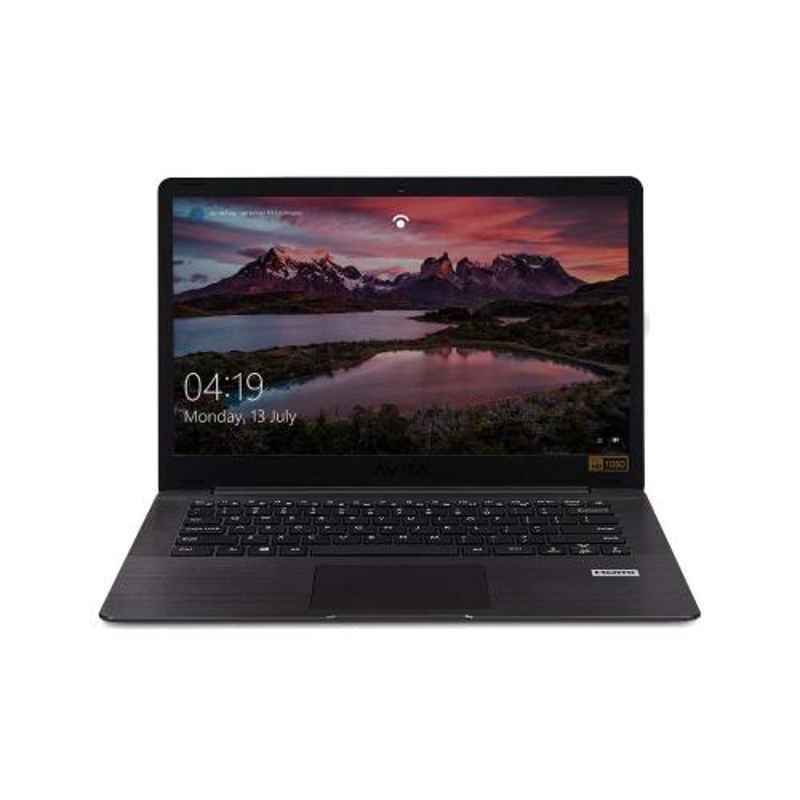 AVITA PURA AMD A9-9420E 8GB DDR4 RAM 256GB SSD/Windows 10 Home & 14 inch Display Metallic Black Laptop with 2 Years Warranty, NS14A6IND541-MEGYB