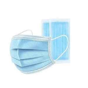 Healthchoice 3 Ply Non Woven Fabric Face Protection Mask with Nosewire (Pack of 50)